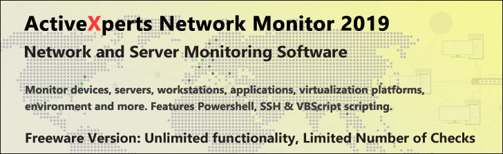 ActiveXperts Network Monitor 2019